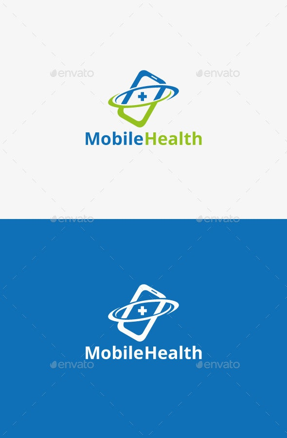Mobile Health Logo - Objects Logo Templates