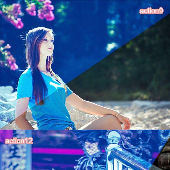 Blue Dream Action