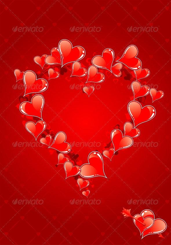 Valentines Day background - Valentines Seasons/Holidays
