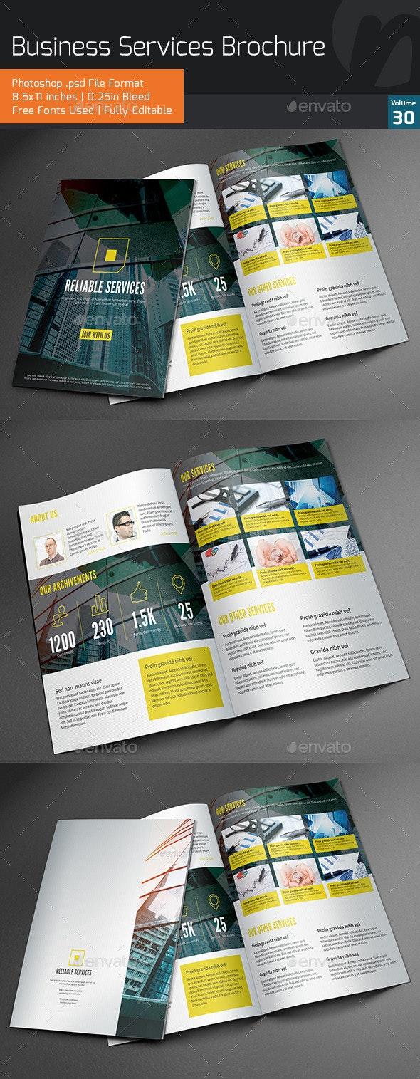 Business Services Bifold Brochure V30 - Corporate Brochures