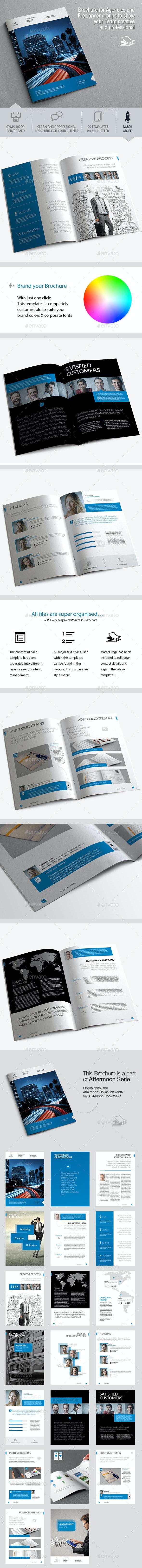 Image Brochure Template - Corporate Brochures