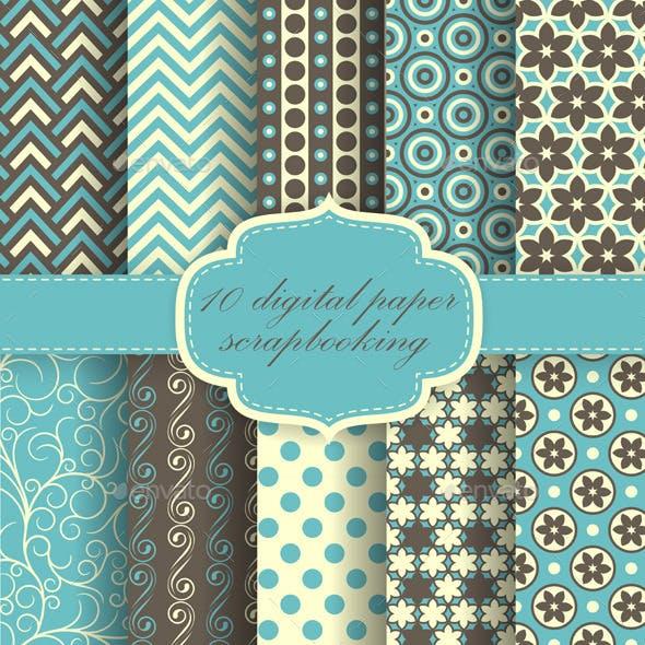 Set of Paper Patterns