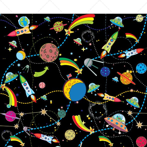 Similar Space Background