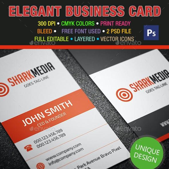 Elegant Business Card 322