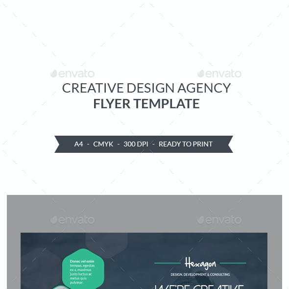 Design Agency Flyers Template