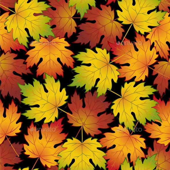 Autumn Leaves - Patterns Decorative