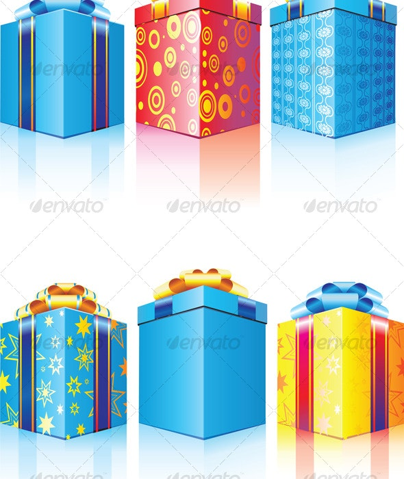 Gift box - Objects Vectors