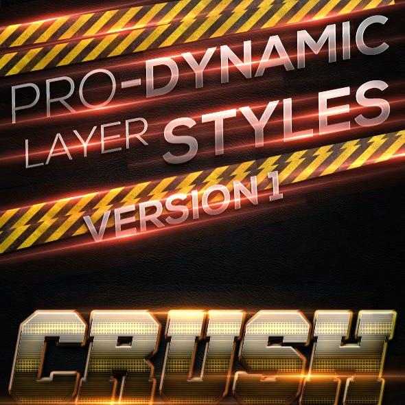 Pro-Dynamic Layer Styles Vol.1