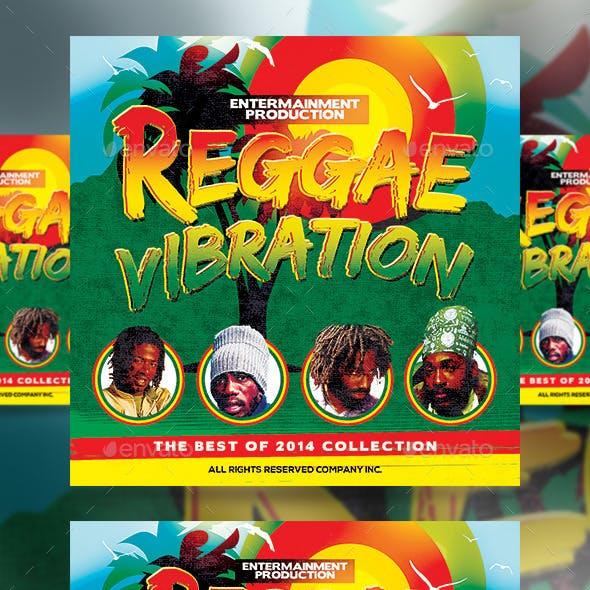 Reggae Vibration CD Cover