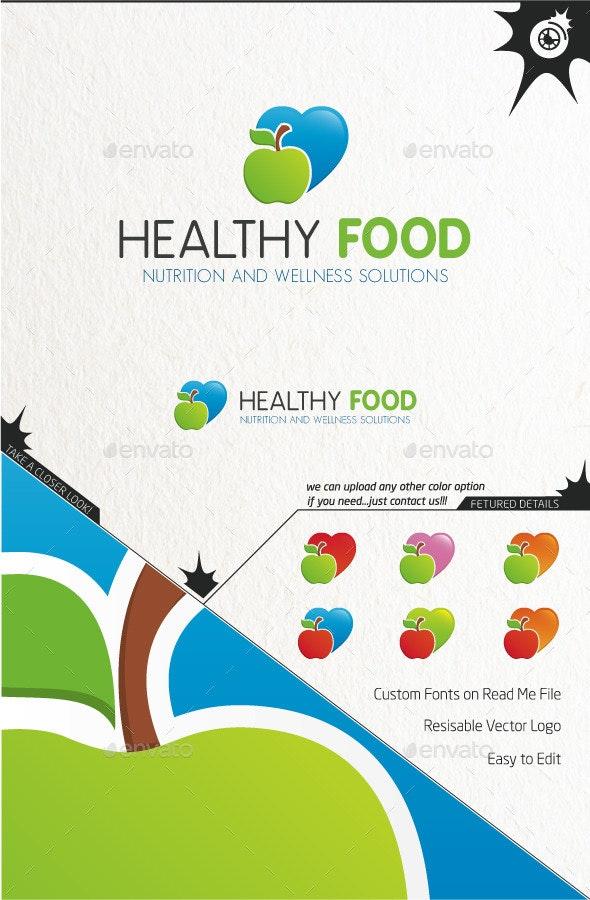 Healthy Food - Nature Logo Templates