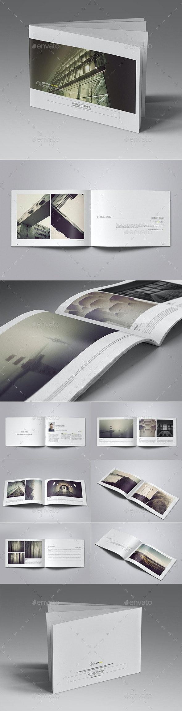 Personal Portfolio Template Vol. I - Portfolio Brochures
