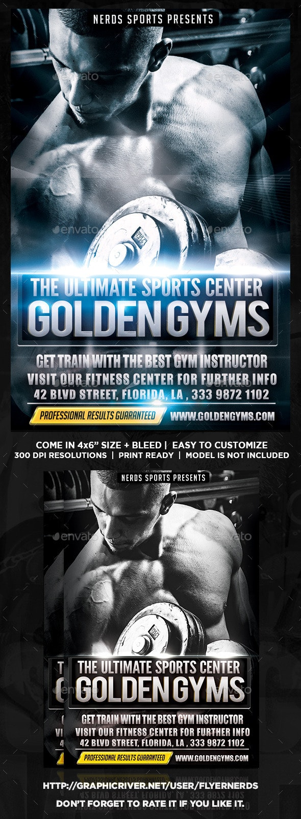 The Gym Sports Flyer - Sports Events