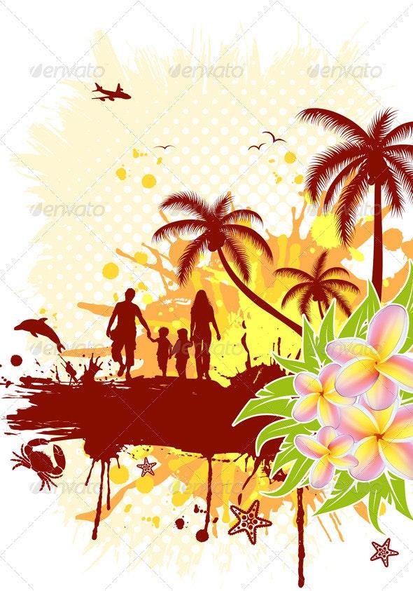 Summer Frame - Seasons Nature