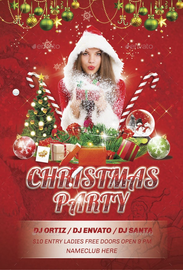 Flyer Christmas Party - Holidays Events