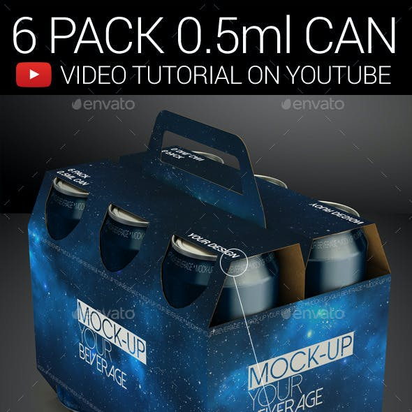 6 Pack 0.5ml Can 01
