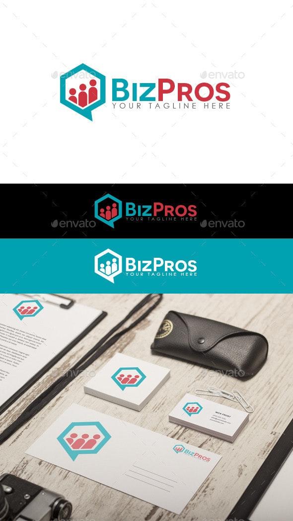 Biz Pros Logo - Abstract Logo Templates