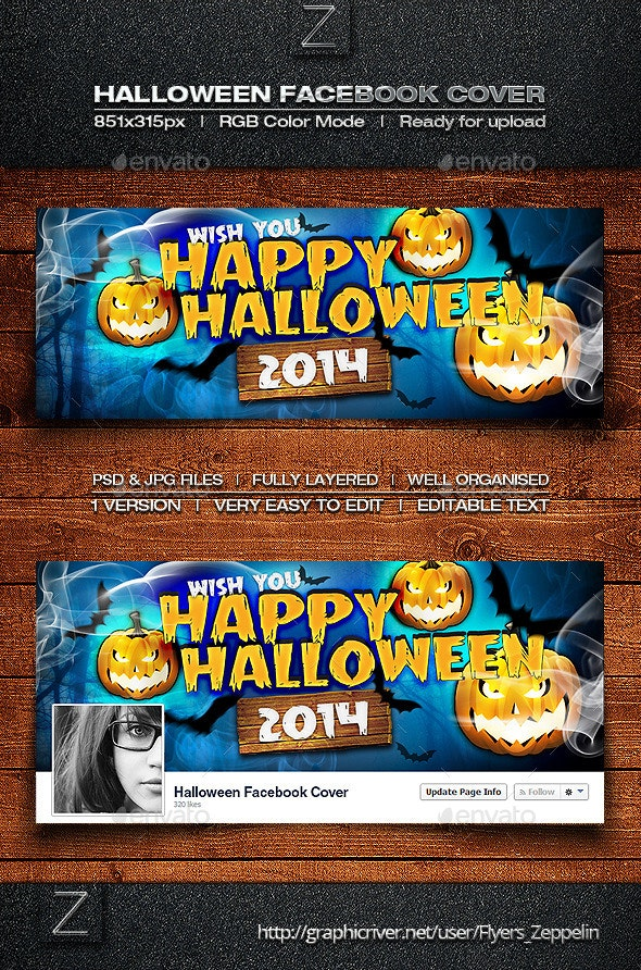 Halloween Facebook Cover - Facebook Timeline Covers Social Media