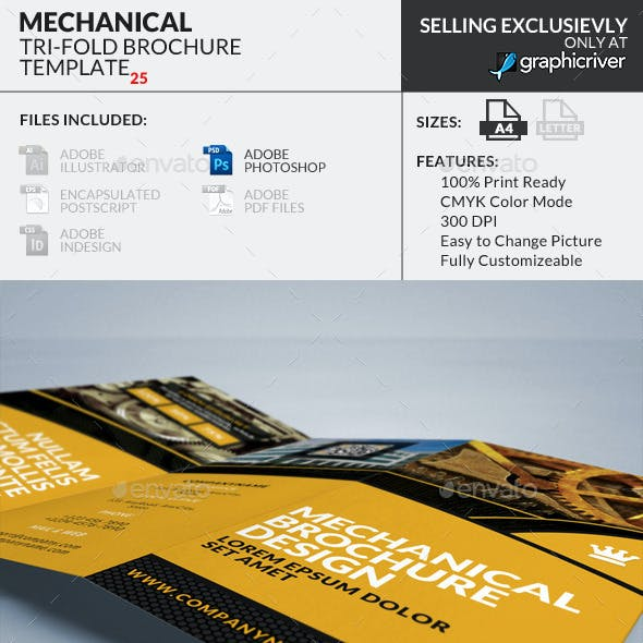 Trifold Brochure 25 : Mechanical