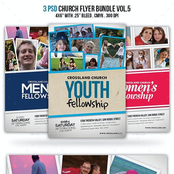 Church Flyer Bundle Vol.5