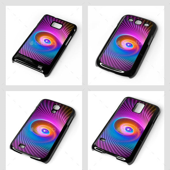 Galaxy S Smartphone Sublimation Covers Mock-Ups