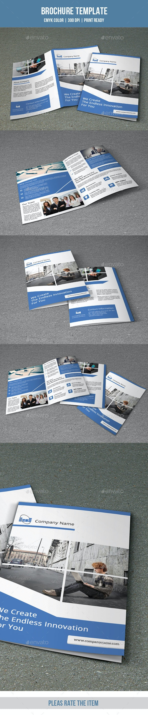 Bifold Business Brochure-V145 - Corporate Brochures