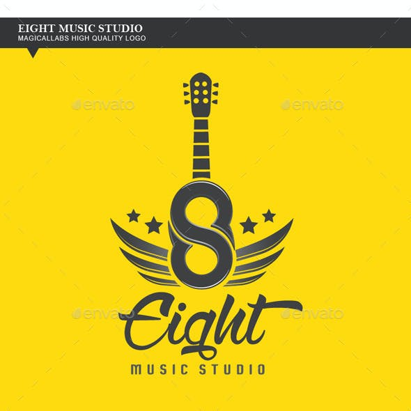 Eight Music Studio Logo