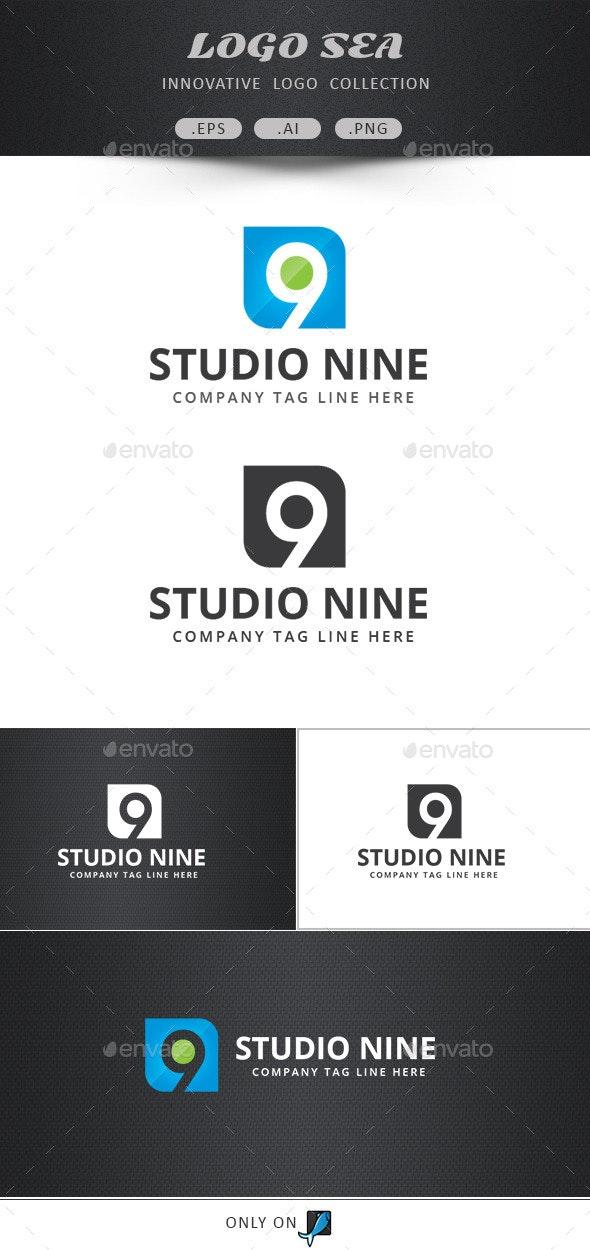 Nine Logo Design  - Numbers Logo Templates