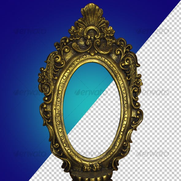 Antique Gold Frame 01