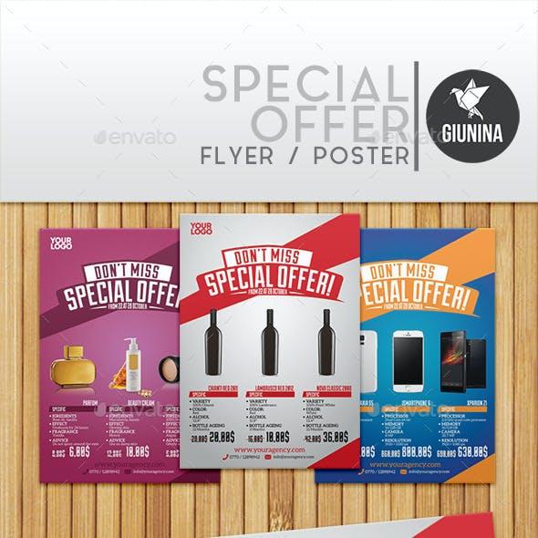 Special Offer Flyer/Poster