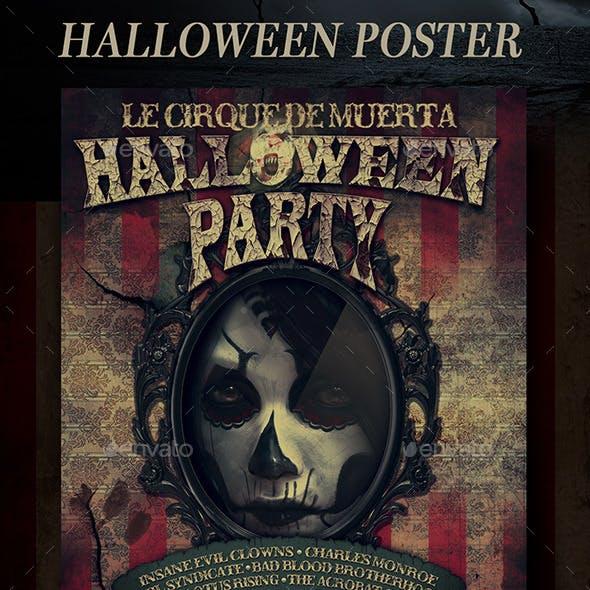 Halloween Mirror Poster