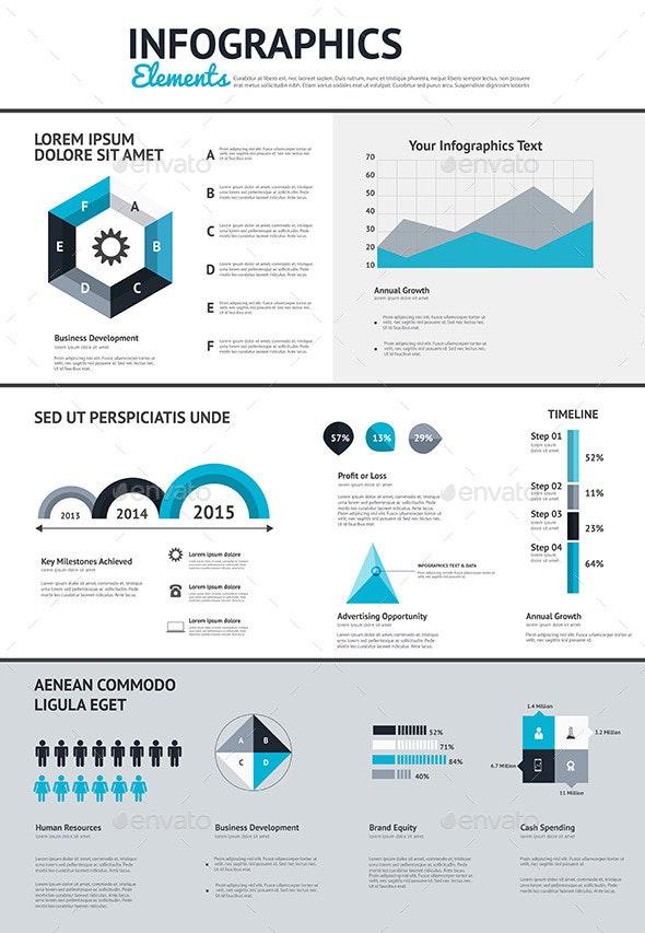 Big Set of Infographic Elements - Infographics