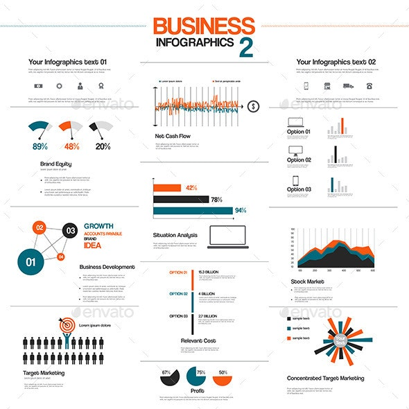 Big Set of Infographic Elements - Infographics