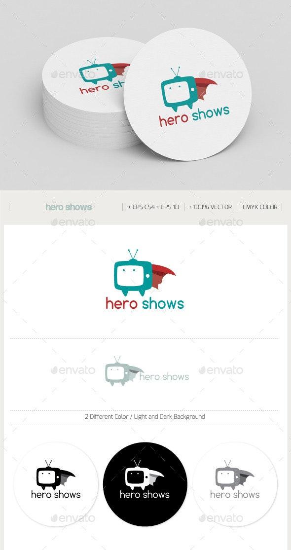 Hero Shows - Objects Logo Templates