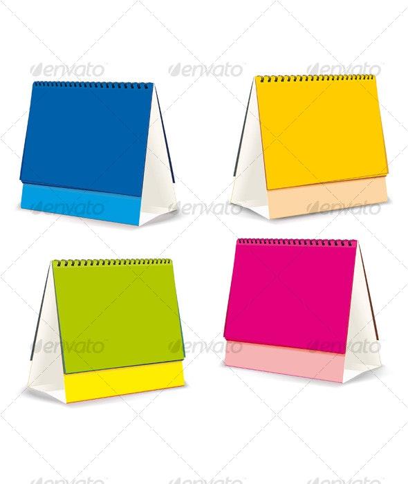 Blanks for Desktop calendar - Patterns Decorative