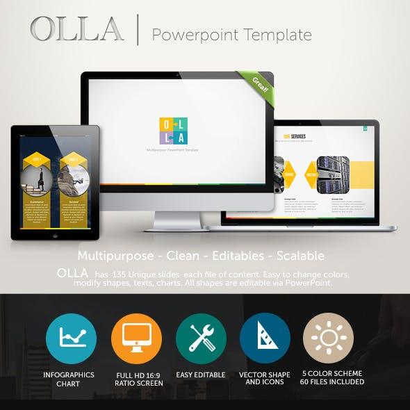 Olla PowerPoint Presentation Template