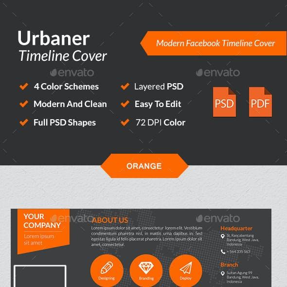 Urbaner - Modern Facebook Timeline Cover