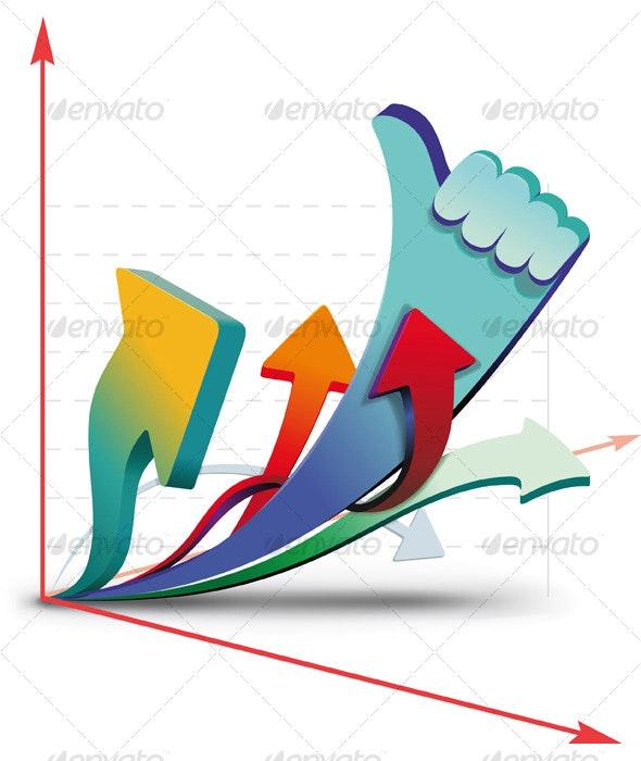 Growth charts - Conceptual Vectors