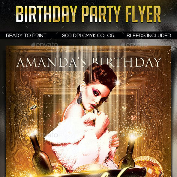 Birthday Party Flayer