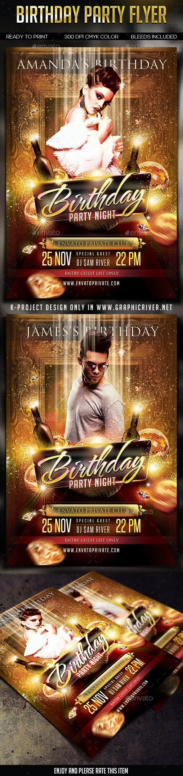 Birthday Party Flayer - Clubs & Parties Events