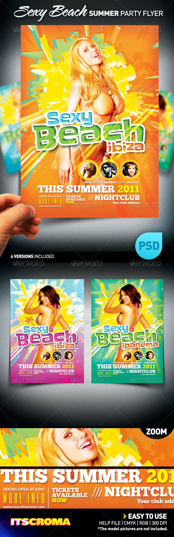Sexy Beach Summer Party / Flyer - Clubs & Parties Events