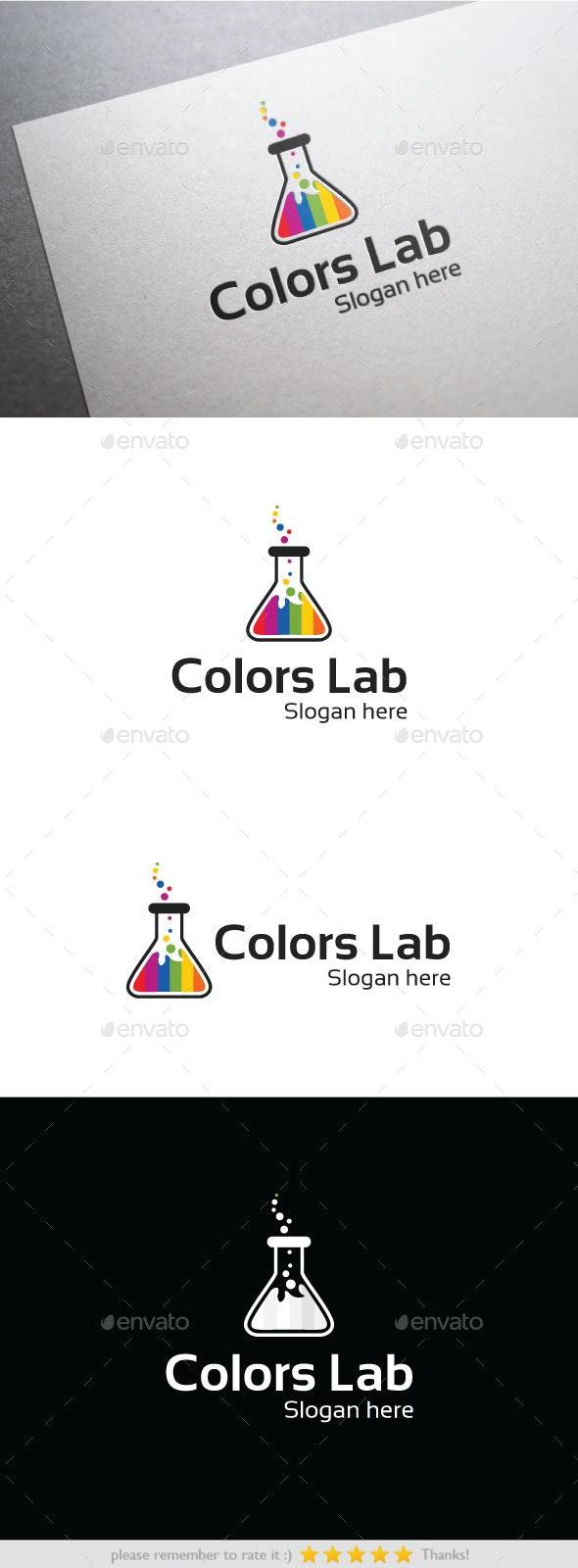 Colors Lab - Nature Logo Templates