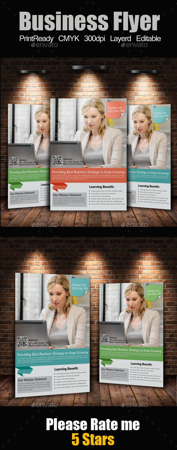 A4 Business Flyer - Corporate Flyers
