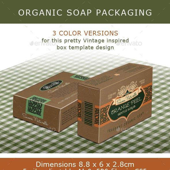 Soap Box: Brown Box for Organic Soap Bar