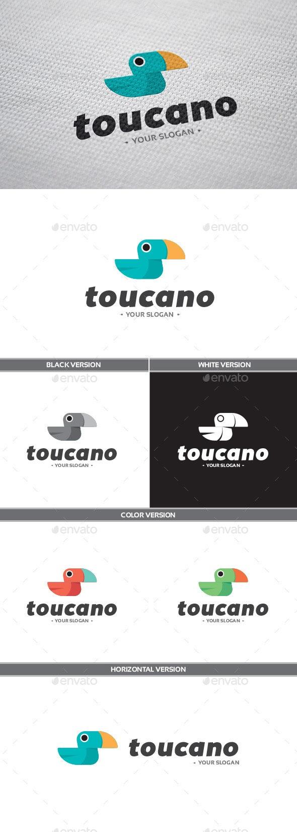 Toucano Logo - Animals Logo Templates