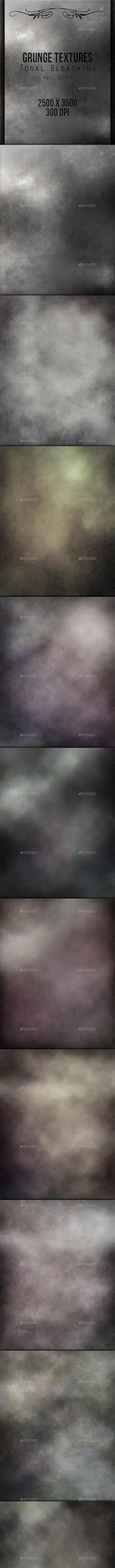 Grunge Textures - Tonal Bleaching 01 - Industrial / Grunge Textures