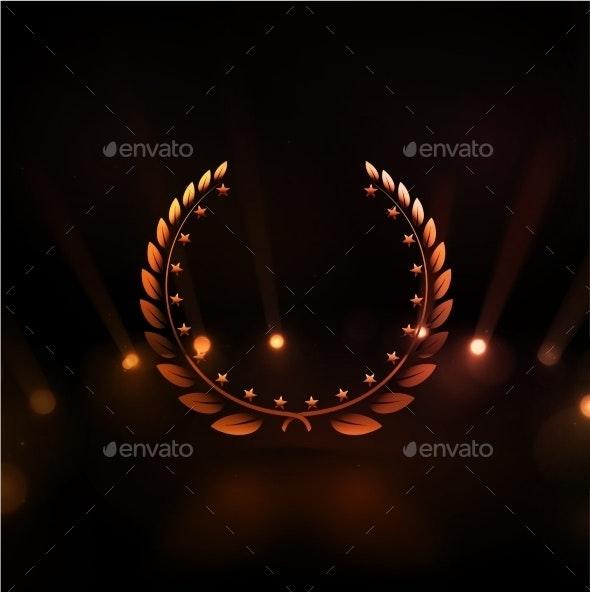 Winner Background - Decorative Symbols Decorative