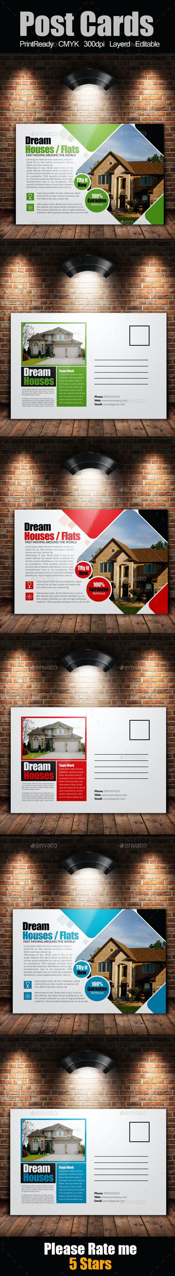 Real Estate Postcards  - Corporate Flyers