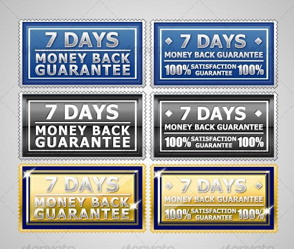 Satisfaction Guarantee Seal - Badges & Stickers Web Elements