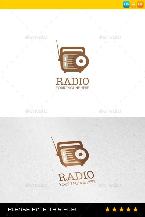 Radio Logo - Objects Logo Templates