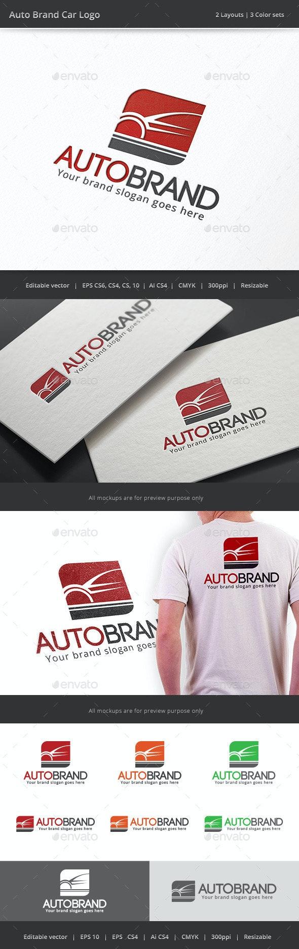 Auto Brand Car Logo - Objects Logo Templates